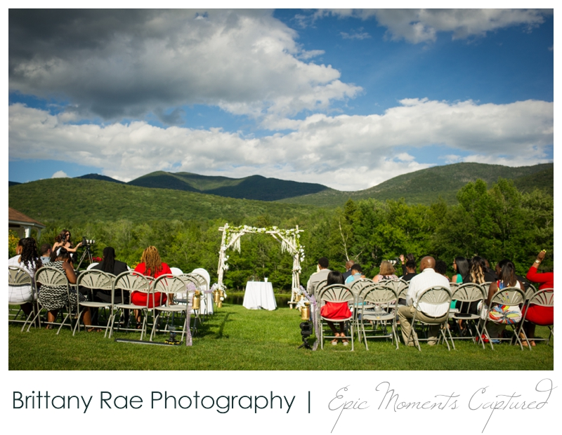 Indian Head Resort Wedding Lincoln New Hampshire - White Mountain Ceremony