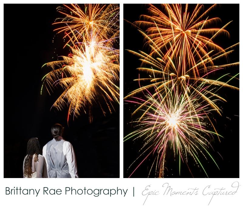 Indian Head Resort Wedding Lincoln New Hampshire - Wedding Fireworks