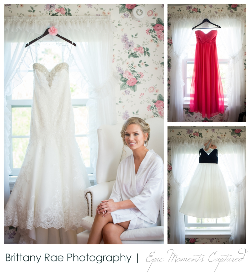 The Colony Hotel Wedding in Kennebunkport Maine - Getting ready at the Colony