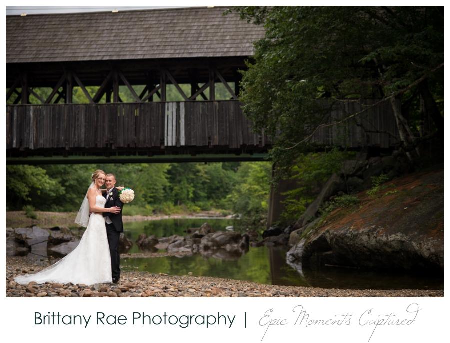 Peak Lodge Sunday River Wedding in Bethel Maine - Covered Bridge Wedding Portraits