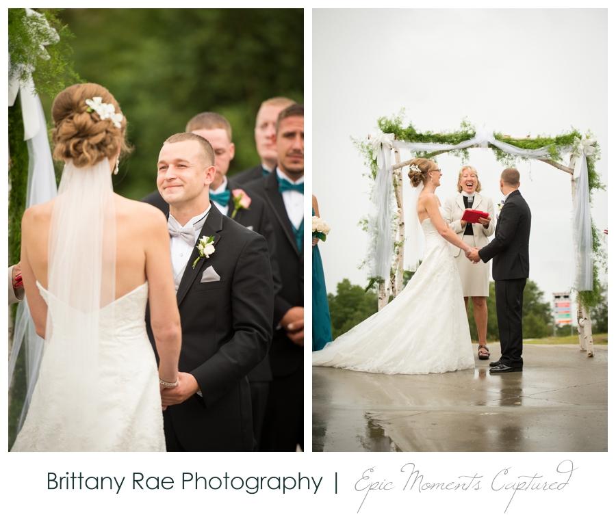 Peak Lodge Sunday River Wedding in Bethel Maine - Peak Lodge Wedding Ceremony