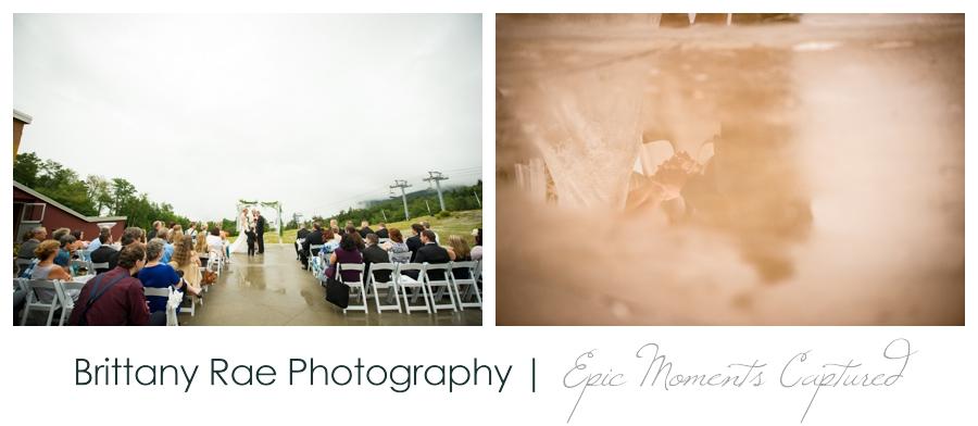 Peak Lodge Sunday River Wedding in Bethel Maine - Wedding Reflection