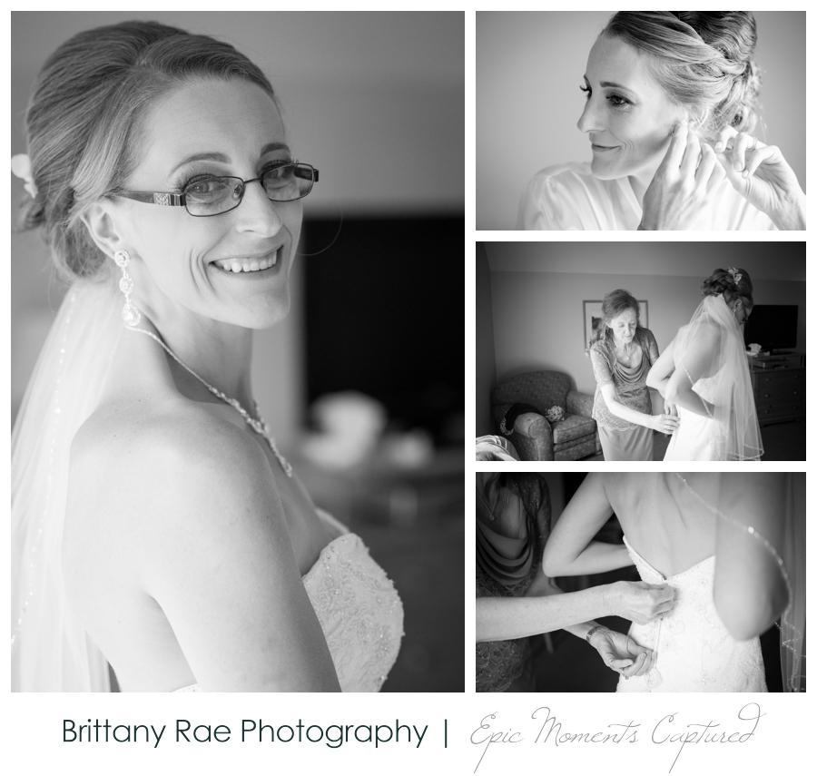 Peak Lodge Sunday River Wedding in Bethel Maine - Bride Getting Ready