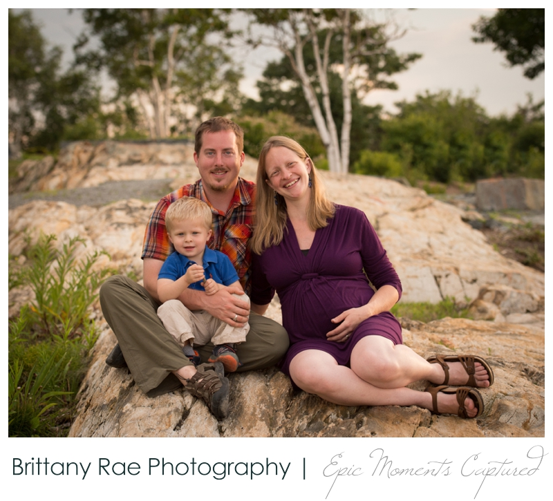 Portland Headlight Family Portraits - 2