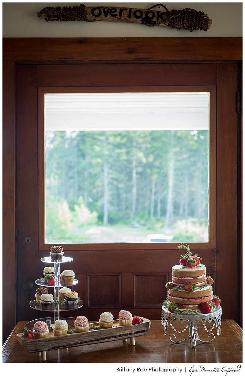 Overlook at the Point Wedding Georgetown Maine - Love Cupcakes