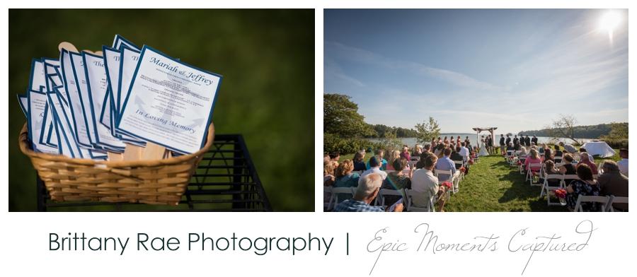 Wolfe's Neck Farm Wedding Freeport Maine - Wolfe's Neck Farm Ceremony
