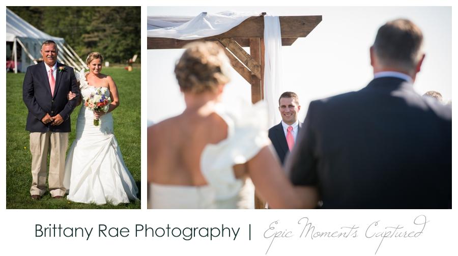 Wolfe's Neck Farm Wedding Freeport Maine - 10