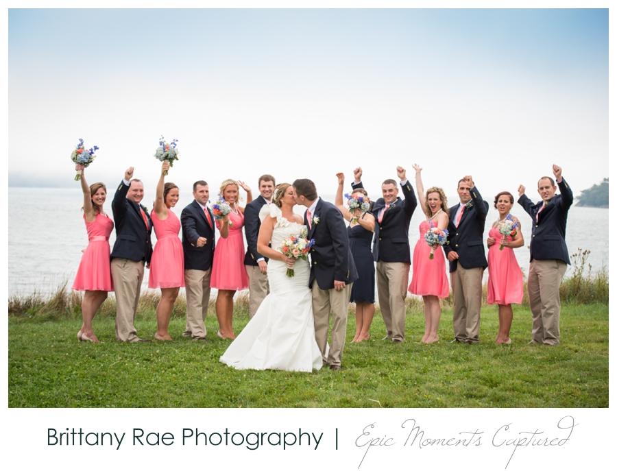 Wolfe's Neck Farm Wedding Freeport Maine - 17