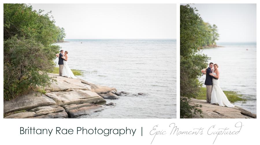 Wolfe's Neck Farm Wedding Freeport Maine - ocean wedding portraits