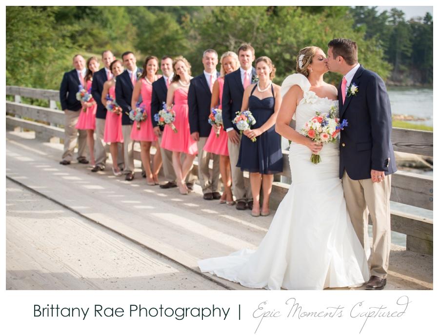 Wolfe's Neck Farm Wedding Freeport Maine - 19