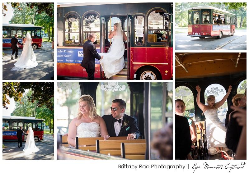 Union Bluff Hotel wedding - York Trolley for Wedding