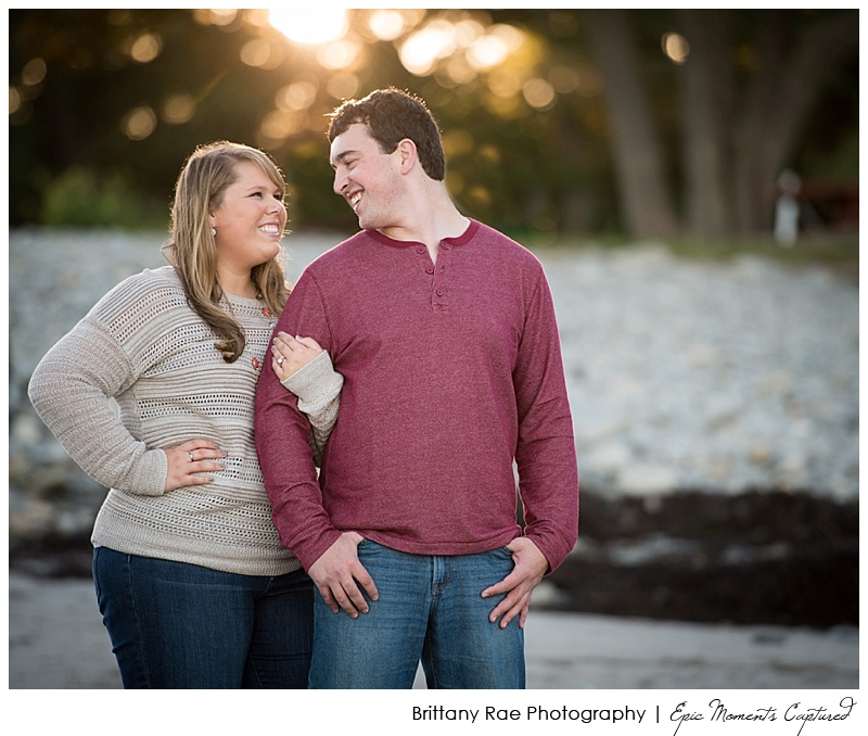 Portland's Old Port Engagement Session - Beach Engagement