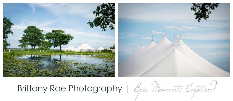 Kennebunkport Tented Wedding - Sperry Tent