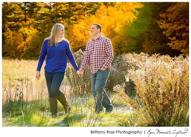 Hobbitland Engagement in Hallowell Maine - 6