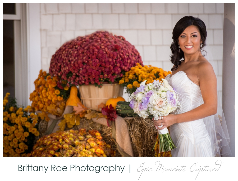 Manchester Country Club Wedding, New Hampshire - Fall Bridal Portraits