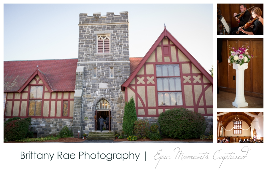 Manchester Country Club Wedding, New Hampshire - Searles Chapel