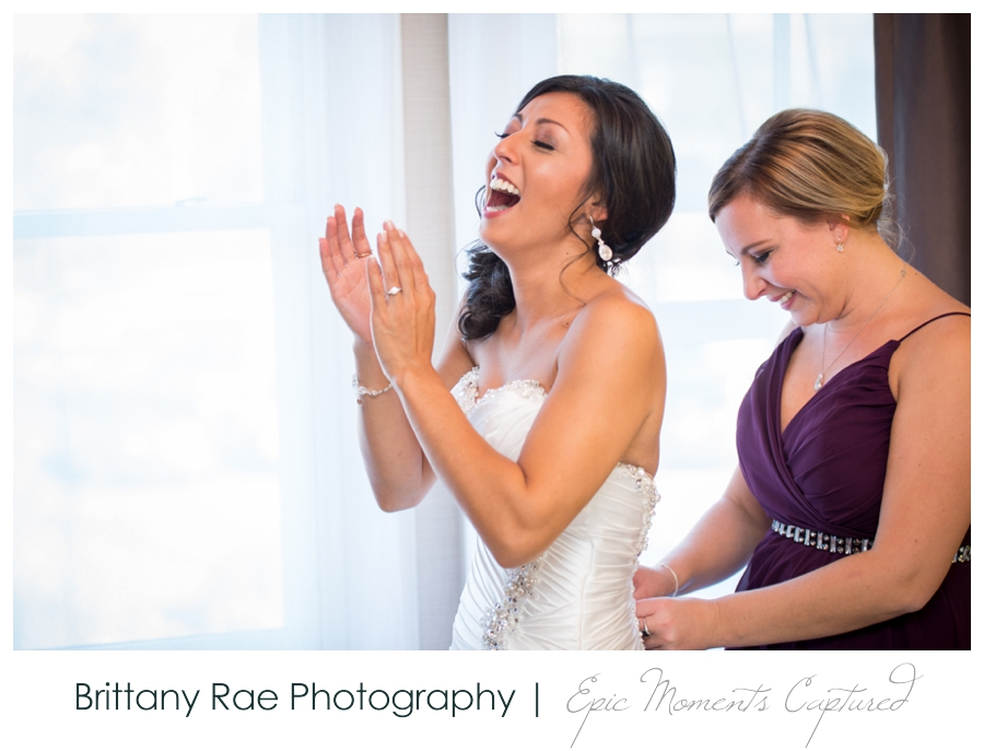 Manchester Country Club Wedding, New Hampshire - Bride Getting Ready