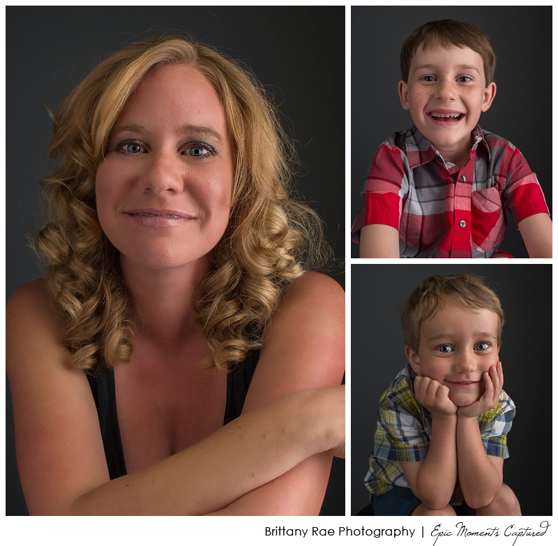 Glamour Portraits Scarborough - Mom with two boys