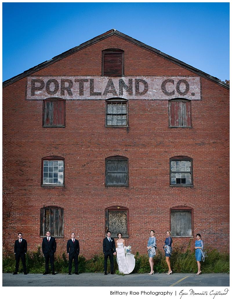 Portland Maine Wedding - Portland Company Wedding