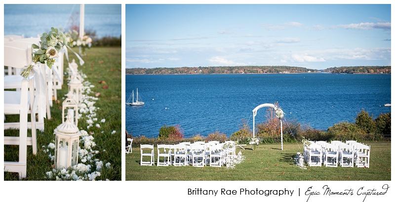 Portland Maine Wedding - Fort Allen Park Ceremony