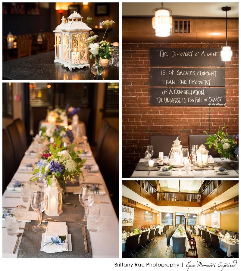 Portland Maine Wedding - Five Fifty Five Wedding Reception