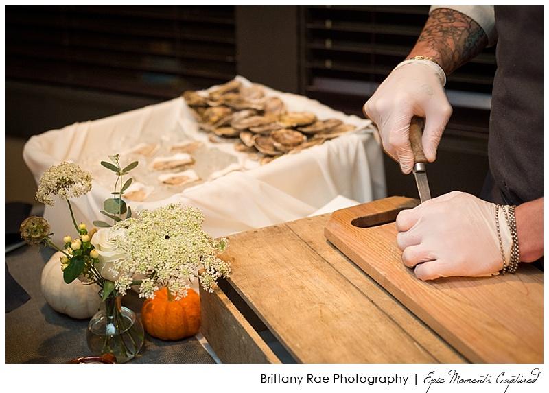 Portland Maine Wedding - Oyster Bar at Wedding