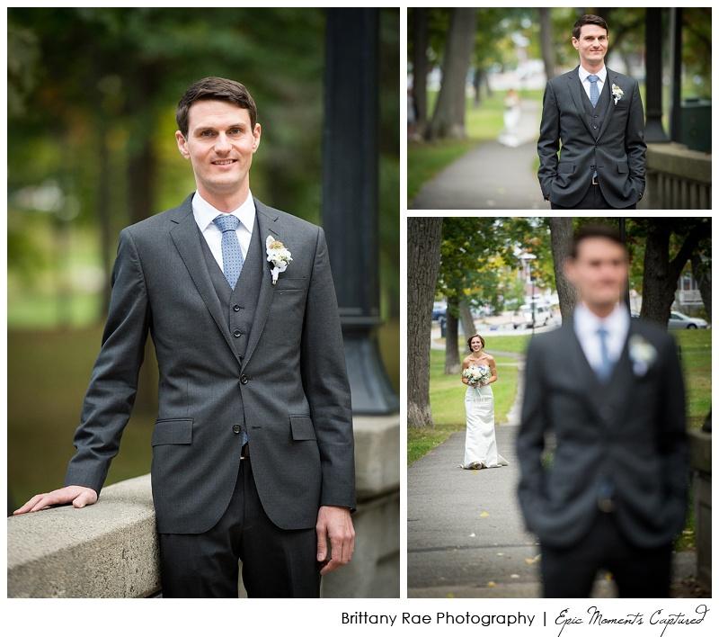 Portland Maine Wedding - Deering Oaks First Look
