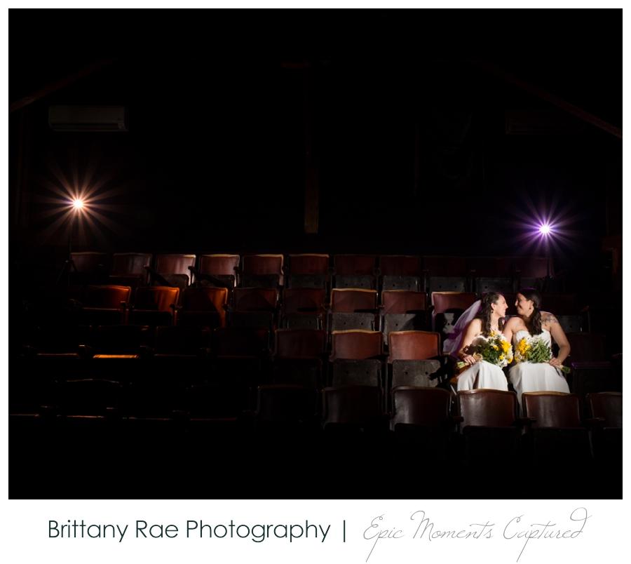 Celebration Barn Theater Wedding in Paris Maine - dramatic wedding light