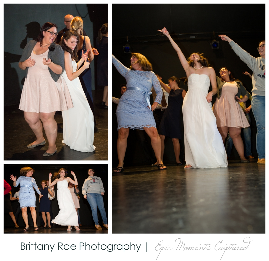 Celebration Barn Theater Wedding in Paris Maine - Time Warp Dance