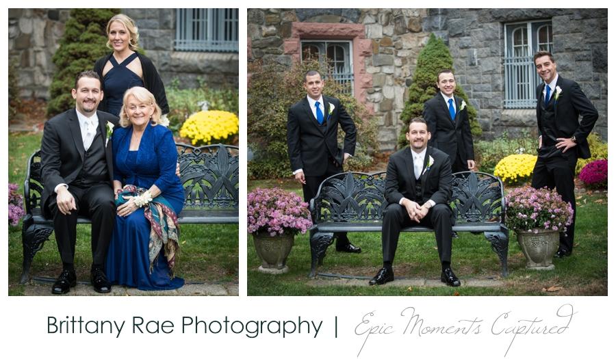 Searles Castle Wedding in Fall - 20