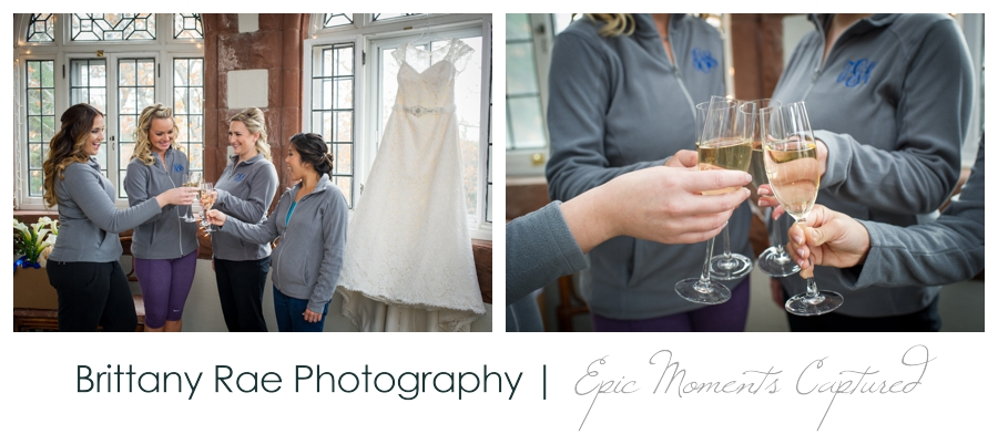 Searles Castle Wedding in Fall - 4