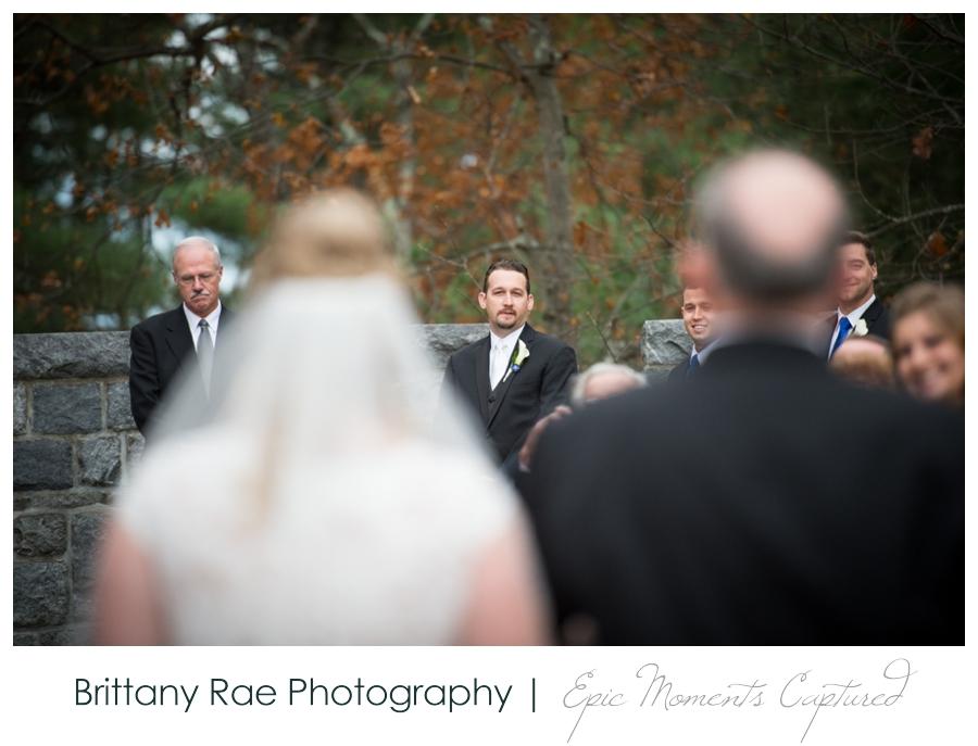 Searles Castle Wedding in Fall - 24