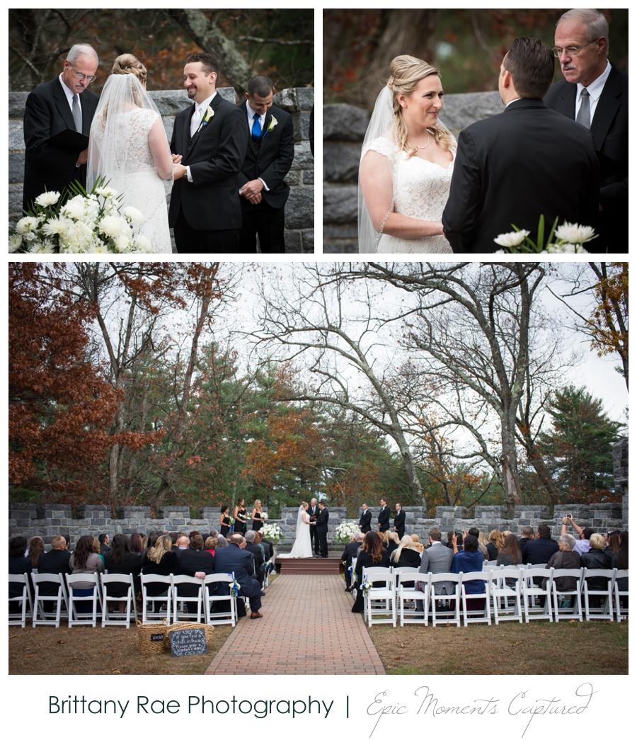 Searles Castle Wedding in Fall - 26