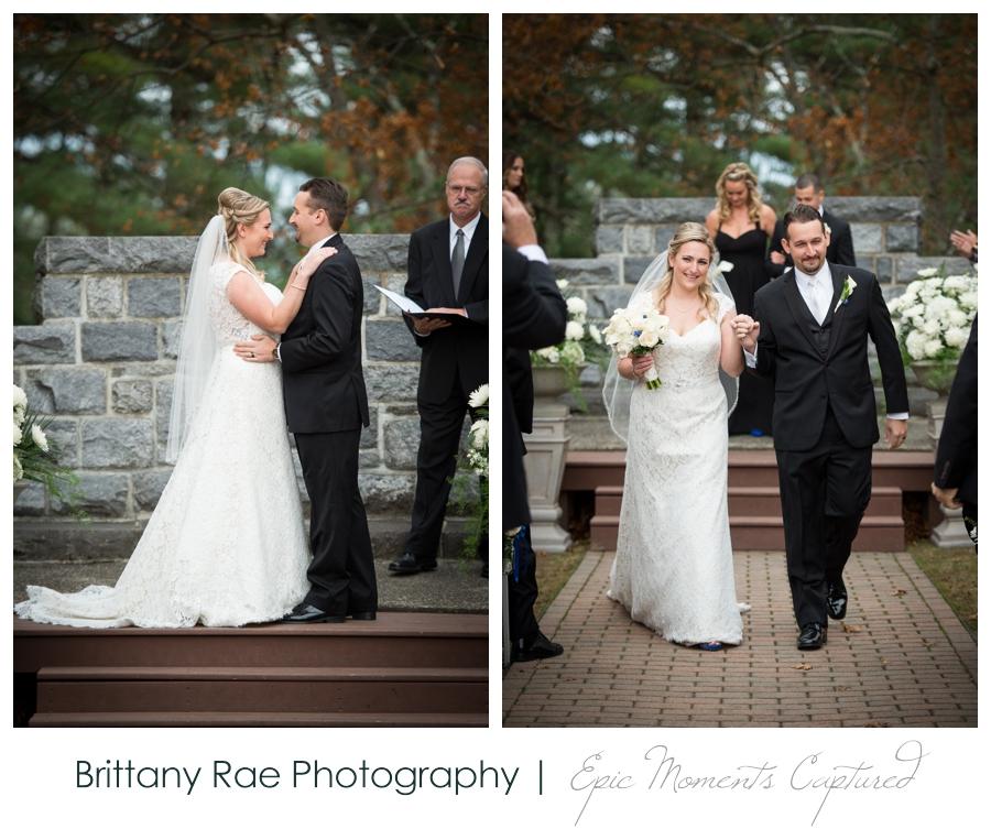 Searles Castle Wedding in Fall - Fall Castle Wedding