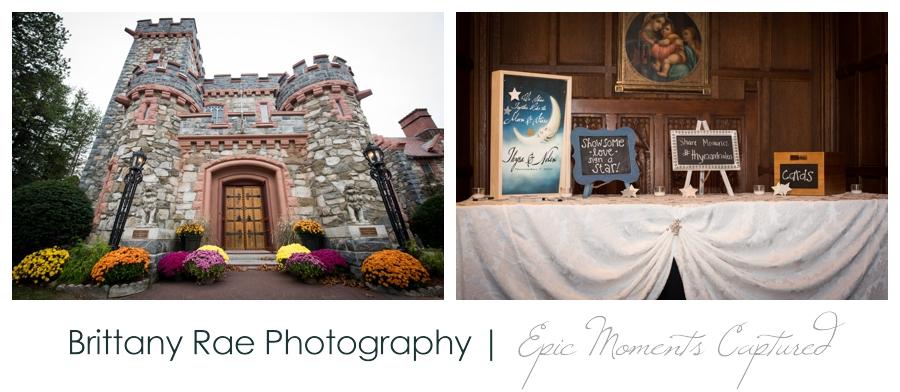 Searles Castle Wedding in Fall - Castle Wedding