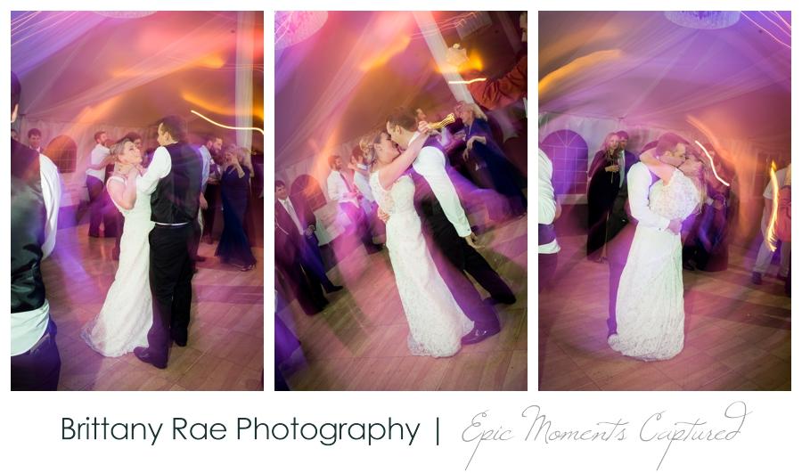 Searles Castle Wedding in Fall - Tented Wedding Dancing