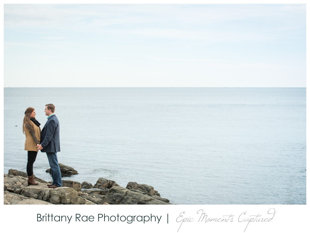 Portland Head Light Engagement Session Portland Maine - 8