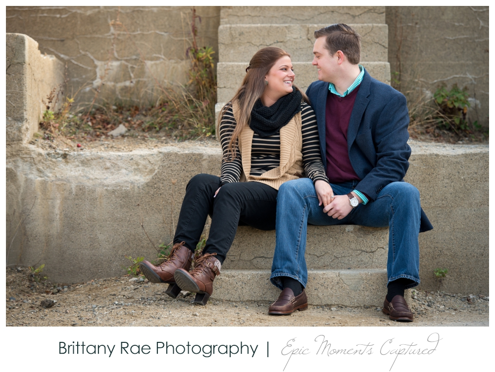 Portland Head Light Engagement Session Portland Maine - 6