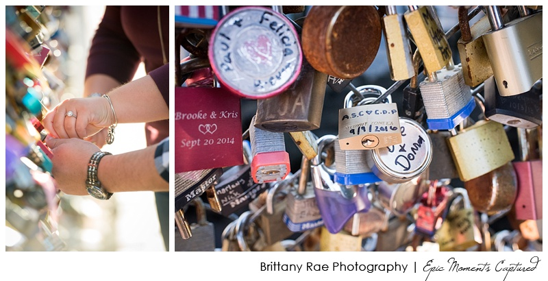 Portland Head Light Engagement Cape Elizabeth Maine - Love Lock Bridge