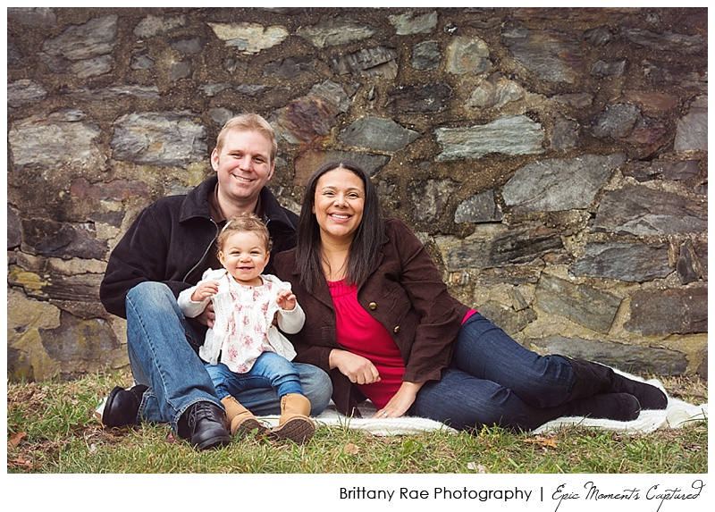 Maine Family Photographer, Portraits in the Park, Portland Head Light - Family Portraits Rock Wall