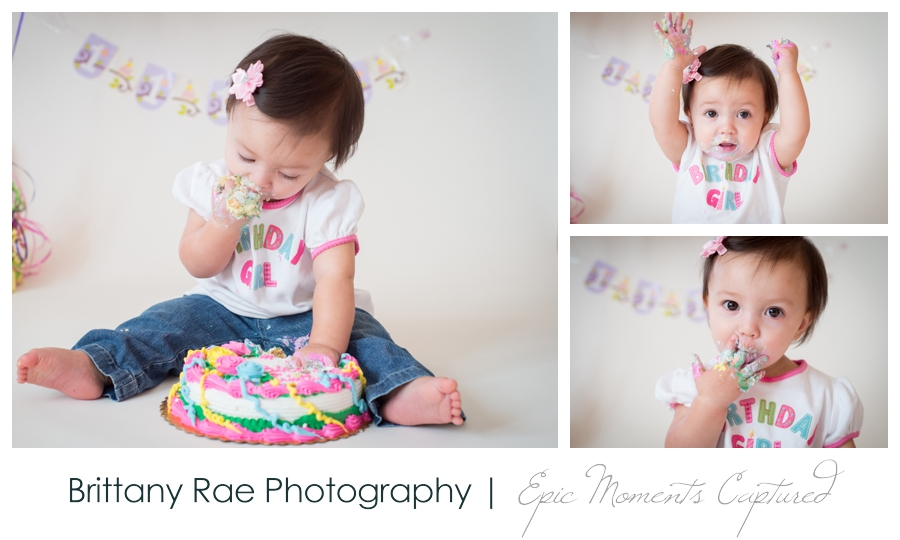 First Birthday Cake Smash - 3
