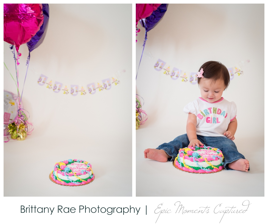 First Birthday Cake Smash - 1