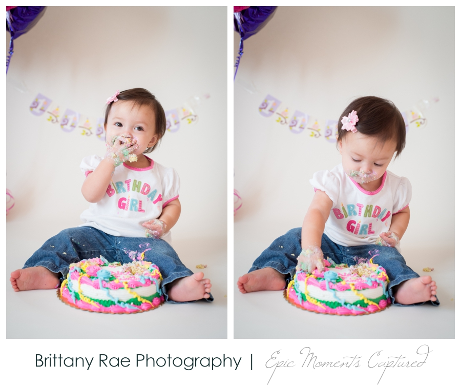 First Birthday Cake Smash - 4