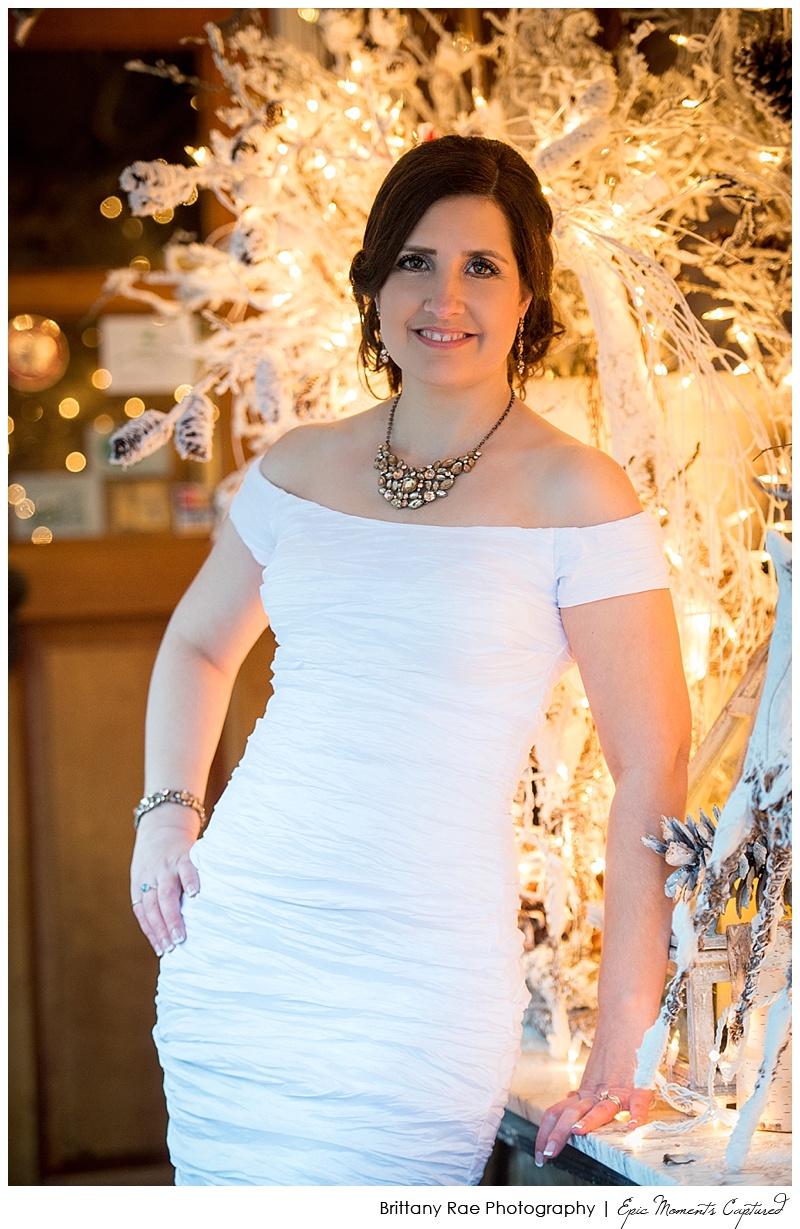 On the Marsh Wedding Kennebunkport, Maine - Winter Bride