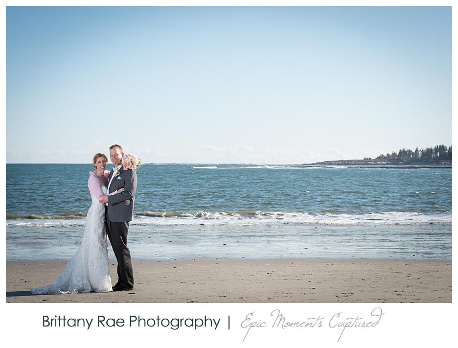 Inn By The Sea Wedding in Cape Elizabeth Maine - Beach Wedding Portraits
