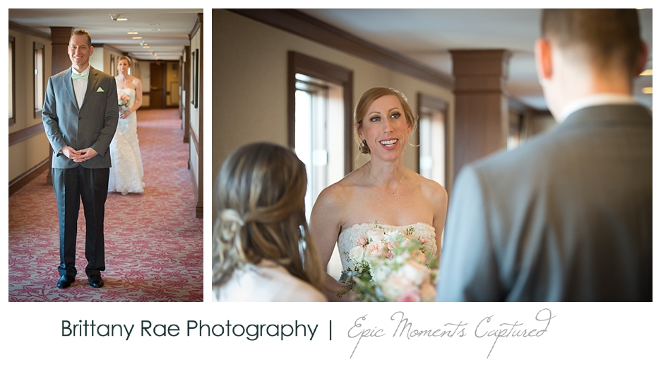 Inn By The Sea Wedding in Cape Elizabeth Maine - First Look