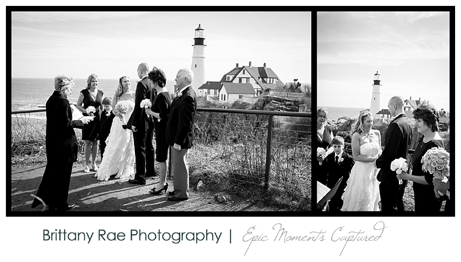 Portland Headlight Wedding, Cape Elizabeth, Maine - 8