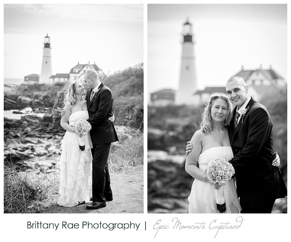 Portland Headlight Wedding, Cape Elizabeth, Maine - 3
