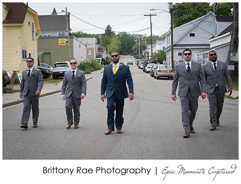 Old Orchard Beach Wedding - Reservoir Dogs