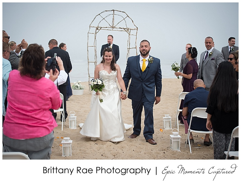 Old Orchard Beach Wedding - Beach Ceremony